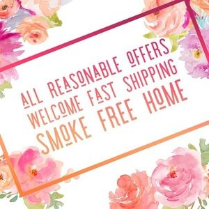 Reasonable offers welcomed!!